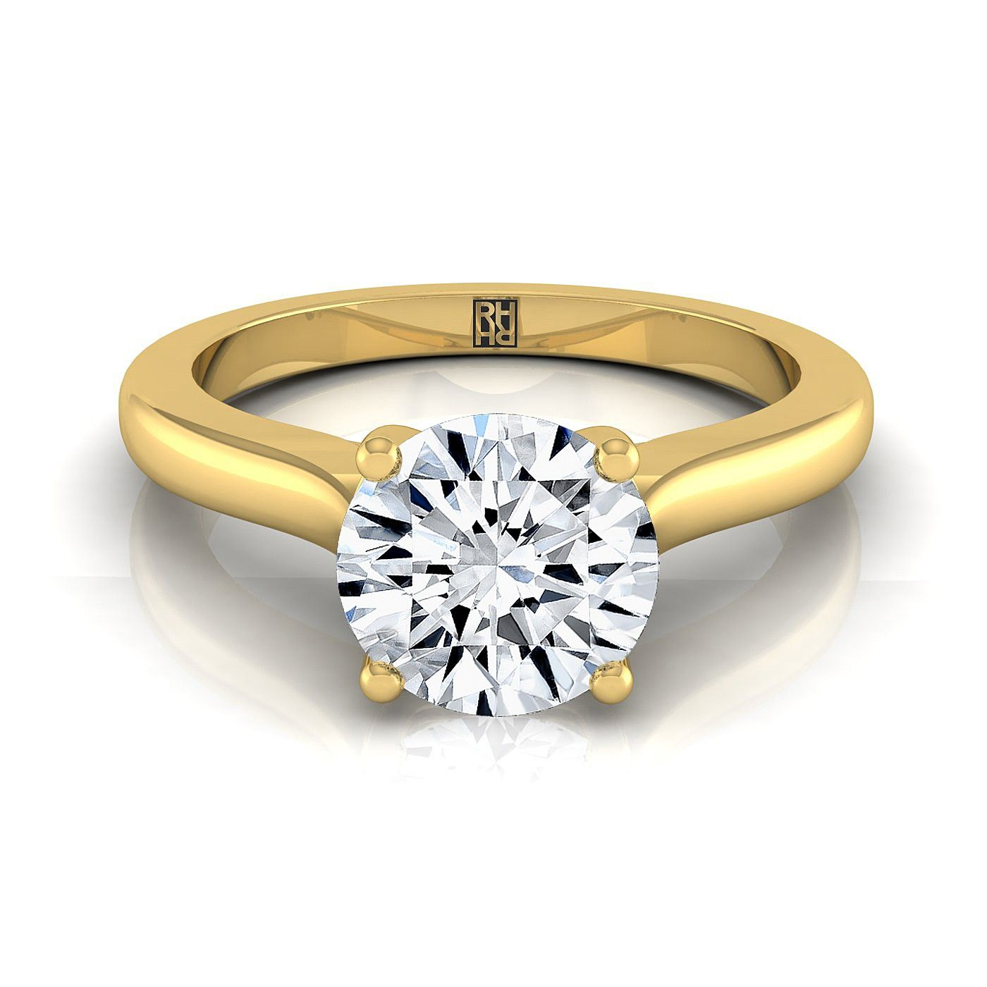 inspiration custom rings profile grey handcrafted creative engagement diamond ring solitaire margaret dousset jean