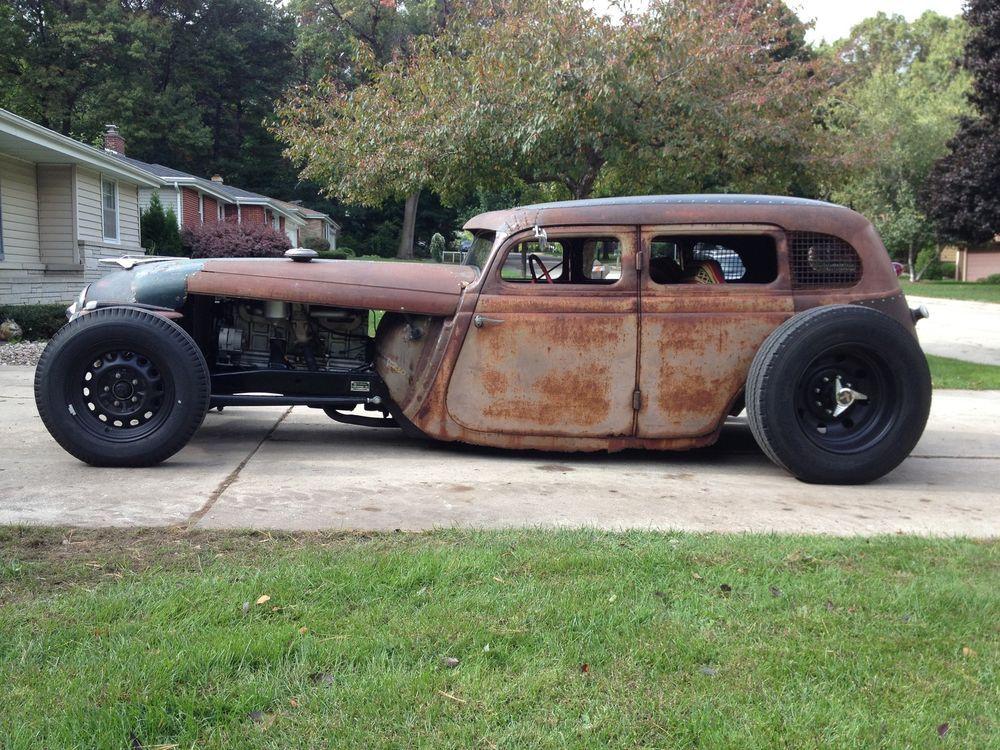 1935 Studebaker Rat Rod Hot Rod Now A 2 Dr Ebay Motors