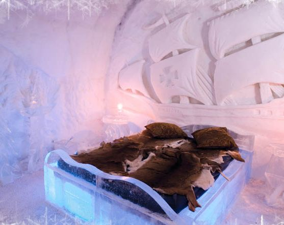 Hotel De Glace Ice Suite Quebec Canada Http Www