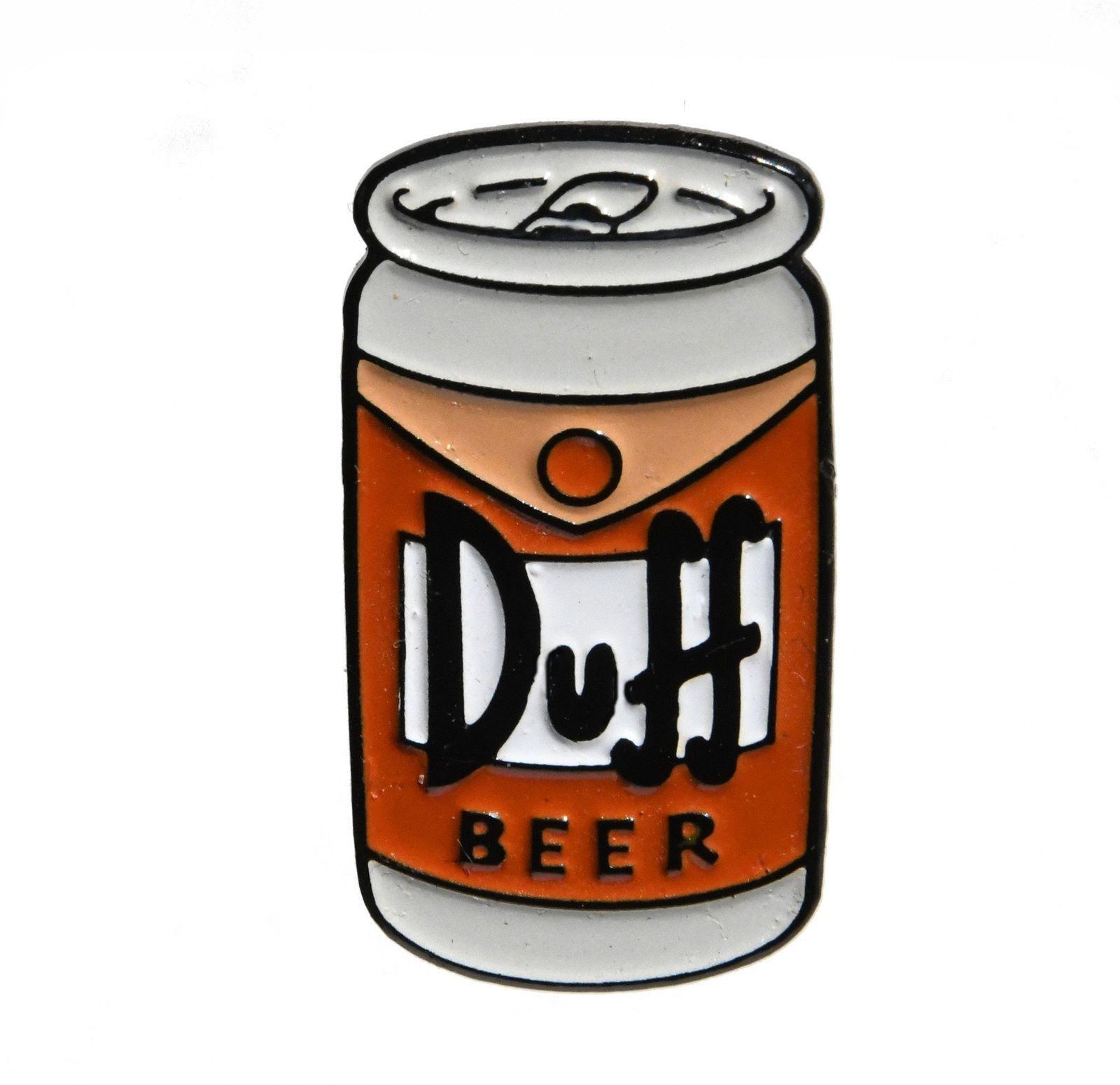 Duff Beer Simpsons Enamel Pin eBay Tatuajes de cerveza