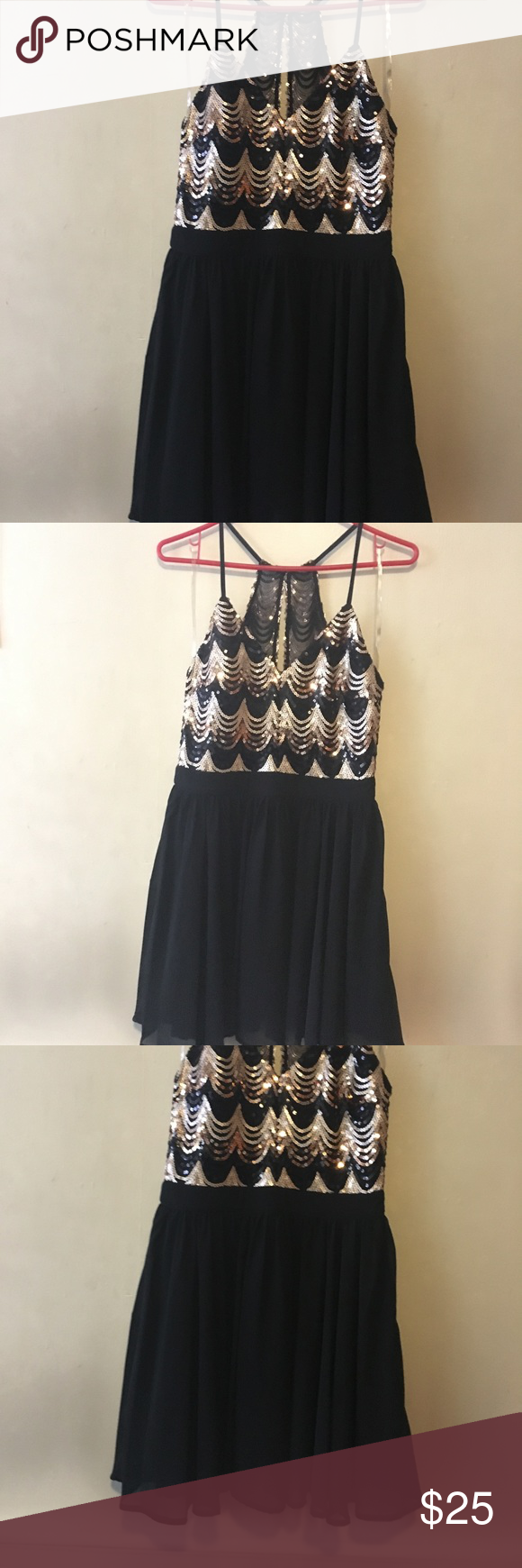 Gold and black sequin dress black sequin dress black sequins and