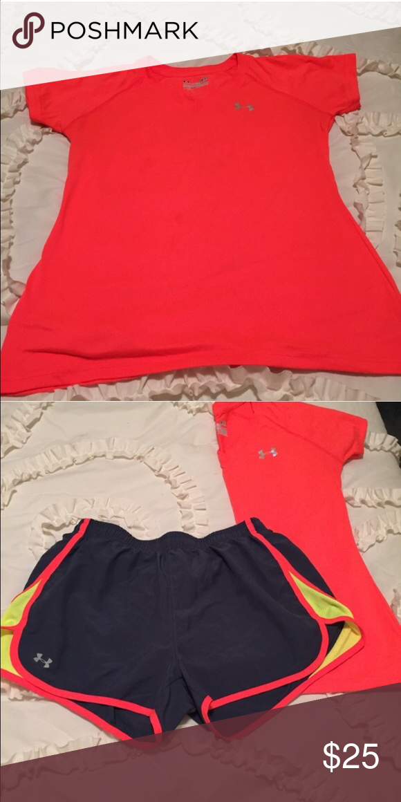 Under Armour Semi-Fitted Heat Gear Top NWOT size small. Under Armour Tops Tees - Short Sleeve