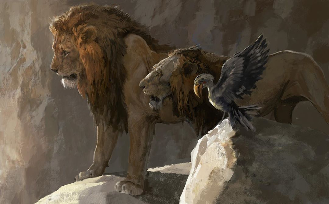 Thecollectibles Concept Art For The Lion King 2019 By Justin Sweet Lion King Art Lion King Fan Art Scar Lion King
