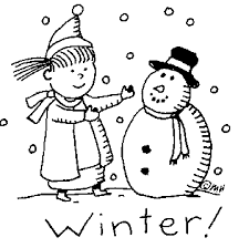 Image result for black and white winter clipart | Digital ...