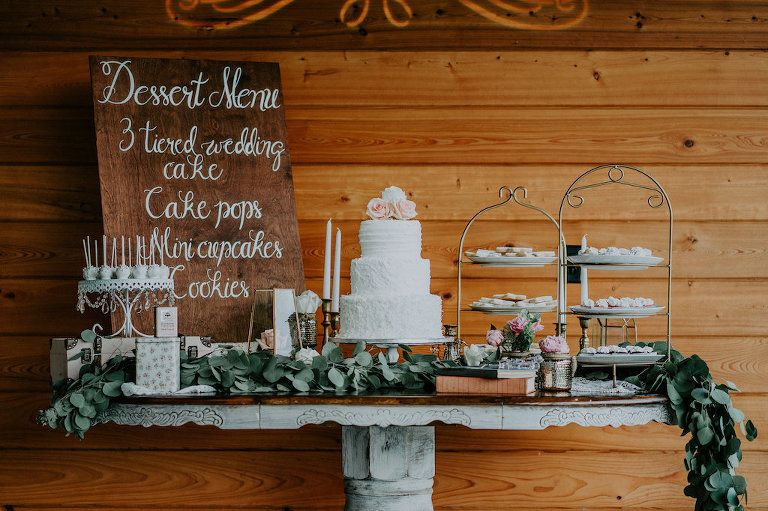 Elegant Rustic Bradenton Pink And Peach Styled Wedding Wedding Dessert Table Elegant Wedding Dessert Table Decor Sweets Table Wedding