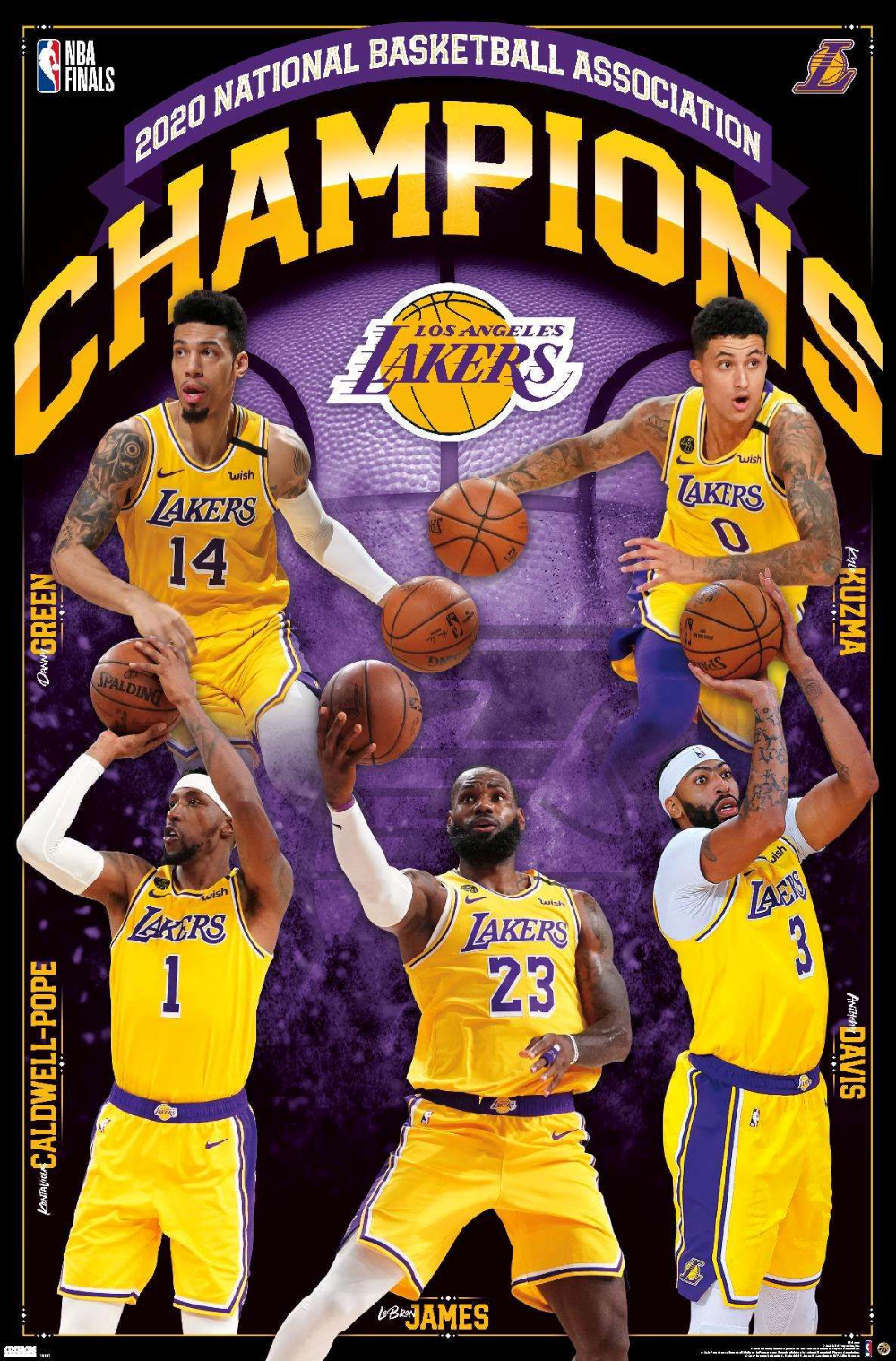 Nba Los Angeles Lakers 2020 Nba Finals Champions In 2020 Nba Finals Nba Los Angeles Nba
