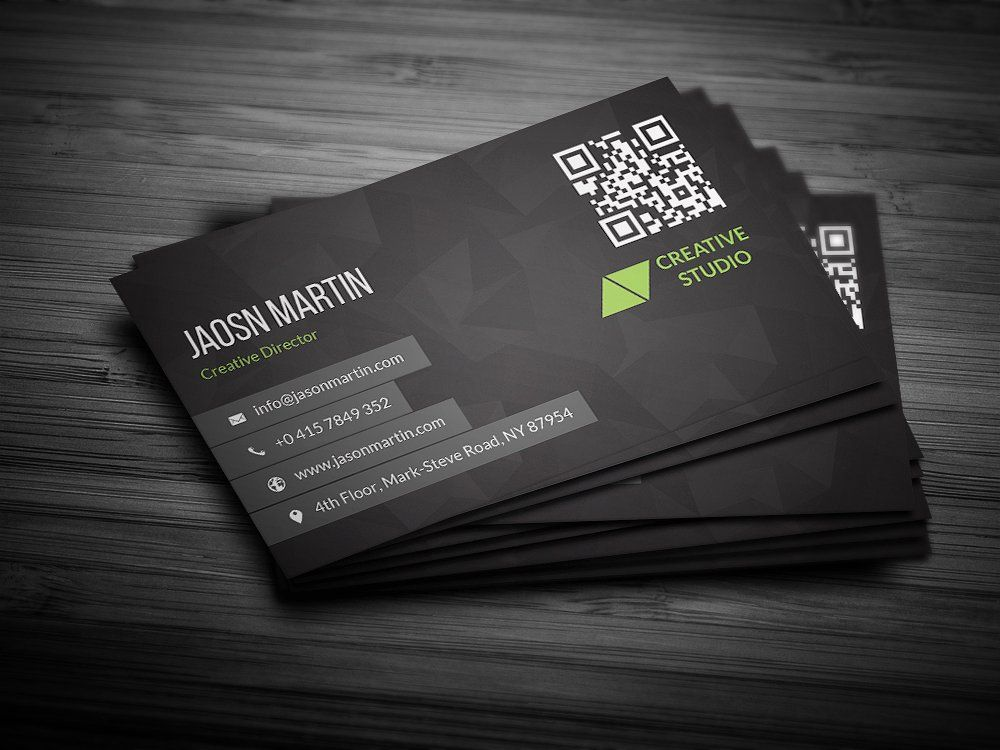 Red Business Card | Business cards