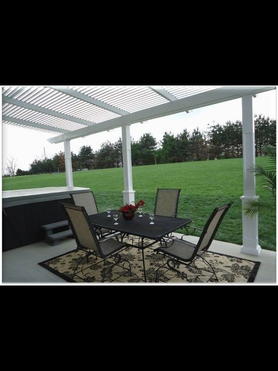 L Shaped Louvered Roof Patio Cover | Louvered Roof Patio Covers | Pinterest  | Patio, Patios And Patio Roof