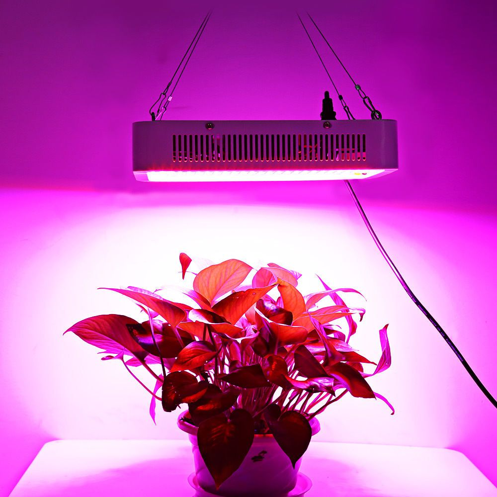 400w Led Plant Grow Light Panel Full Spectrum Suspension Lamp Square Shape Grow Lights For Plants Led Grow Lights