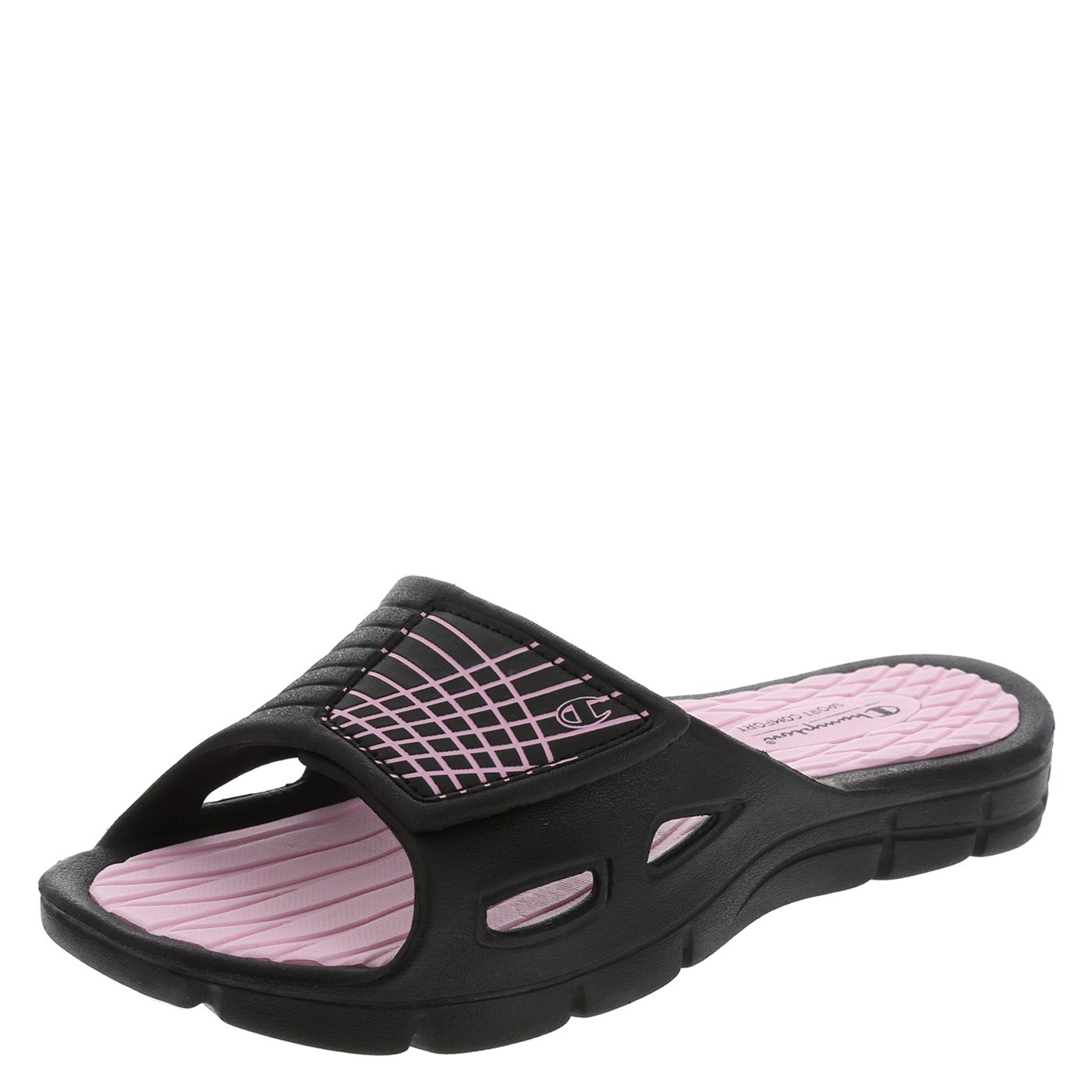 67b53b61a payless.com Champion Women s Coastal Slide (Color - Pink) Pink Shoes