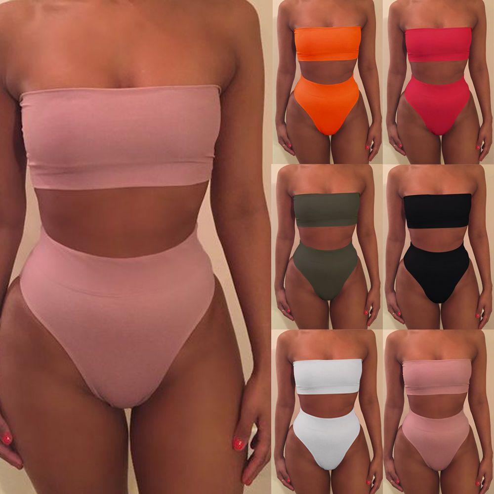 a00d99c056f  4.29 - Womens Push Up Bikini Bandage Padded Bra Swimsuit Bathing 2Pcs Set  Swimwear  ebay  Fashion