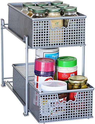 Say Goodbye To Clatter With This Decobros Two Tier Mesh