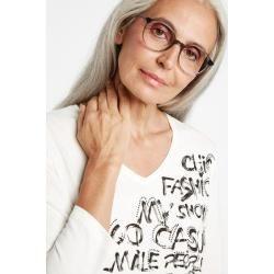 Photo of 3/4-Ärmelhemd mit Frontdruck Bio-Baumwolle weiß Gerry WeberGerry Weber
