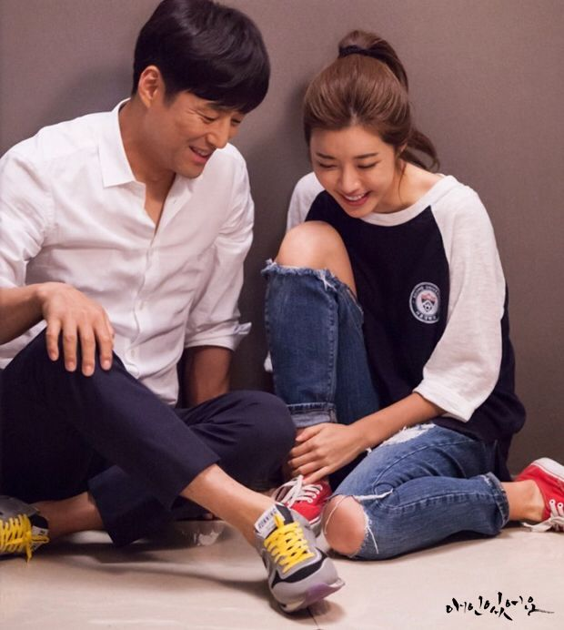 Ji Jin Hee and Park Han Byul for SBS' I Have A Lover