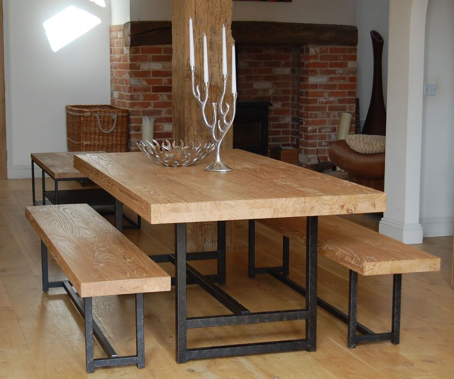 Kitchen Table With Bench Seat: Kitchen: Modern Kitchen Table Bench Designs Also Kitchen