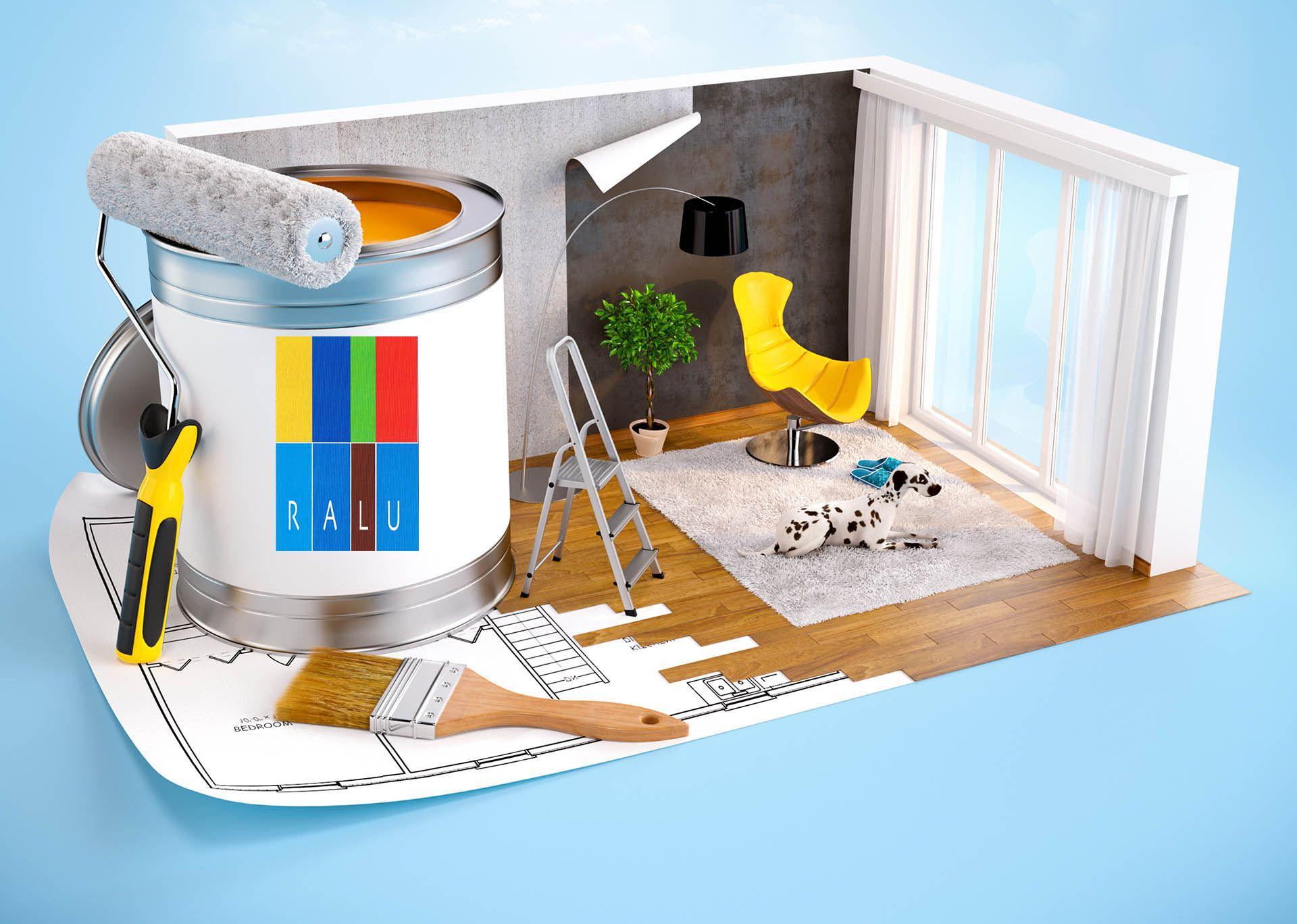 Ralu Pintura Industrial Ralu Pintura Industrial Pintura  # Muebles Personalizados Bujalance
