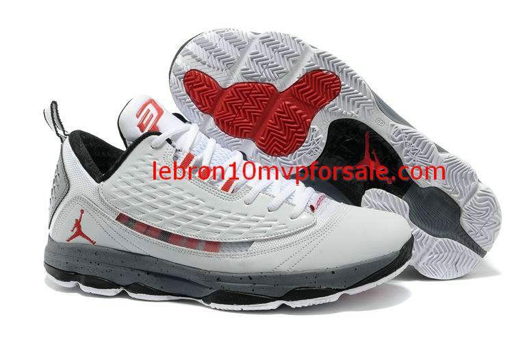 Jordan CP3 VI AE X White Gym Red Cement Grey Black 580580 101