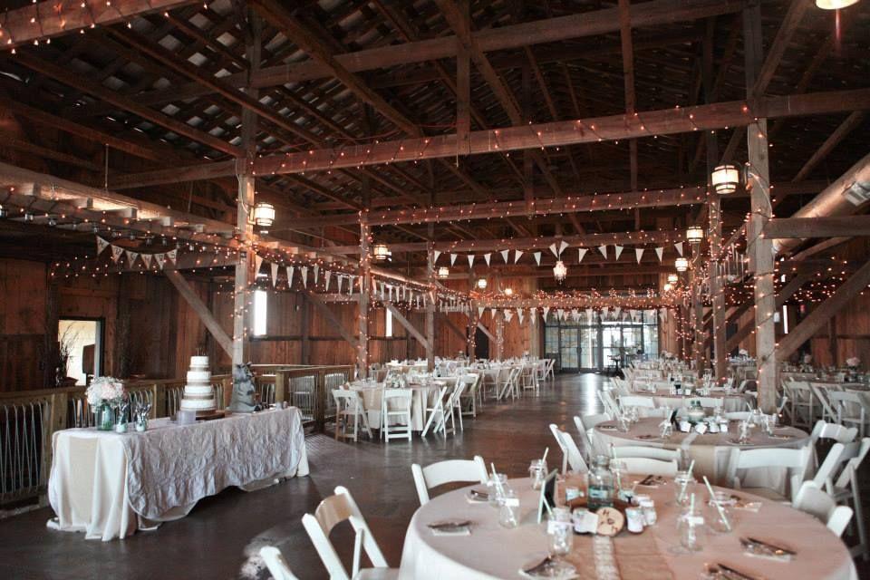 Barn Reception At Talon Winery In Lexington, KY