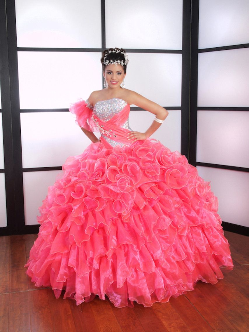 LA Glitter Barcelona Dress | vestidos de 15 años!!! | Pinterest ...
