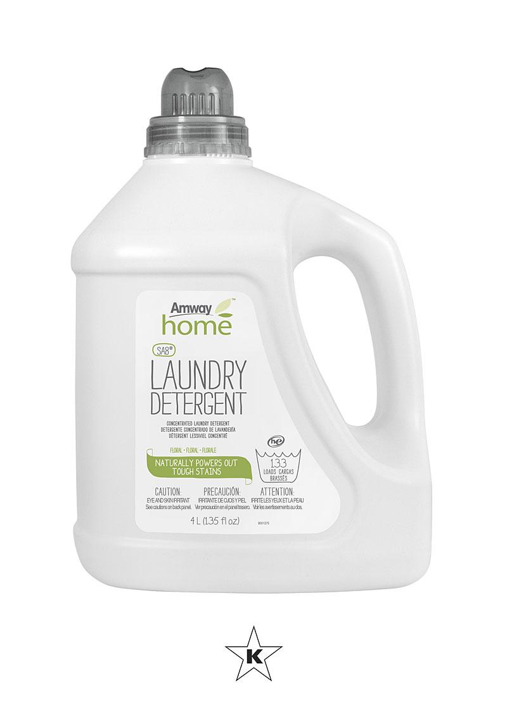 Amway Home Sa8 Detergente Liquido De Lavanderia Floral