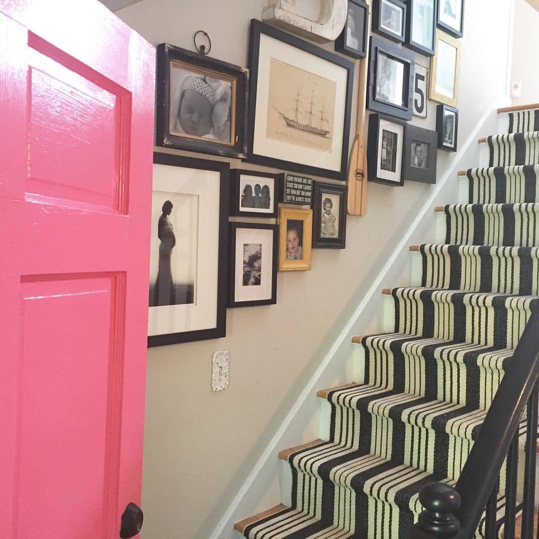 Birmingham Black And White Stripe Stair Runner, Dash And Albert Rugs,  Gallery Walls,
