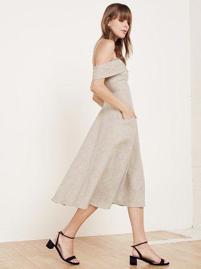 The Jaclyn Dress https://www.thereformation.com/products/jaclyn-dress-oatmeal?utm_source=pinterest&utm_medium=organic&utm_campaign=PinterestOwnedPins