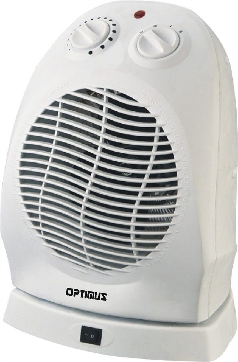 1 500 Watt Portable Electric Fan Compact Heater With Thermostat