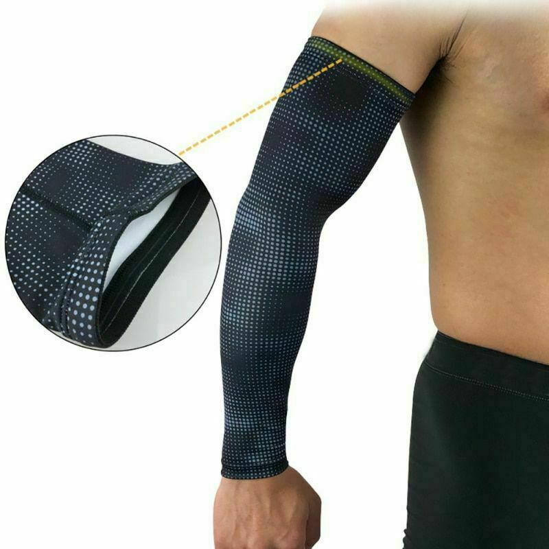 Bike Cycling Arm Warmers Cuff Leg Sleeves UV Sun Protection Covers Gears Summer