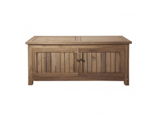 Keymar Teak Outdoor Storage Bench In 2020 Wood Storage Bench