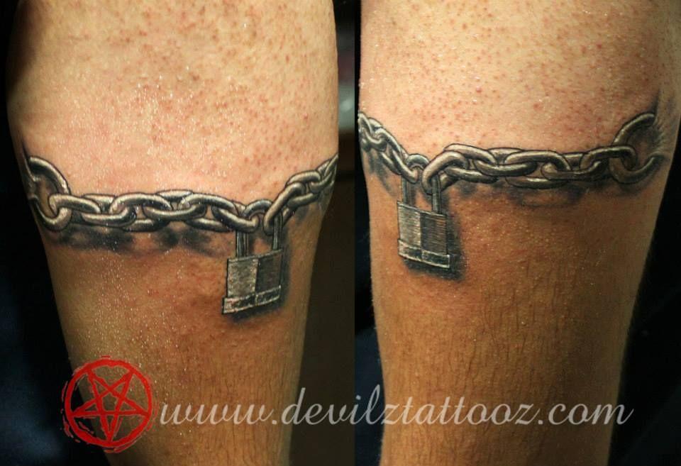 Tattoo ketten motive