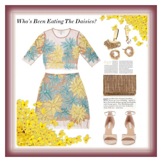 """Who's Been Eating The Daisies?"" by onesweetthing on Polyvore featuring Nasty Gal, Diane Von Furstenberg, STELLA McCARTNEY and Alexis Bittar"