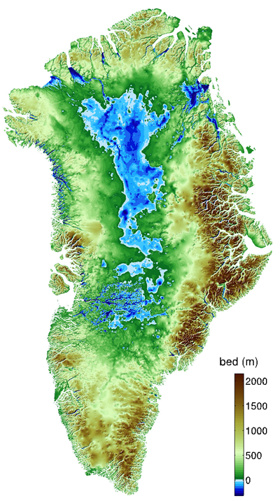Topographic Map Games.Under Ice Topography Of Greenland By Nasa Map Greenland Maps