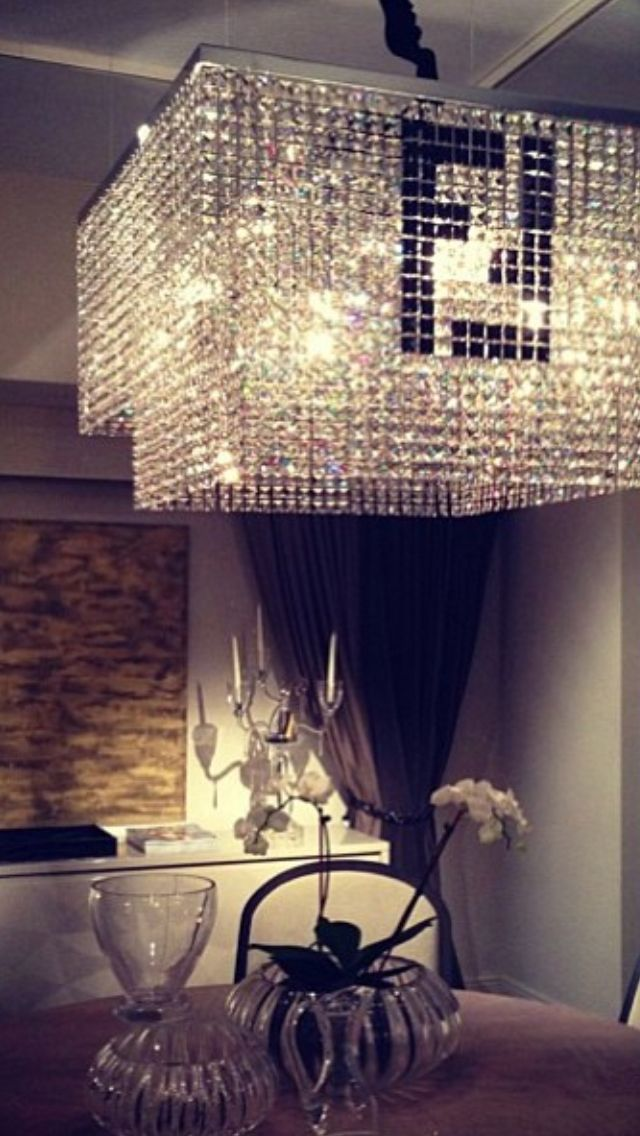 Fendi Chandelier The House Of Beccaria