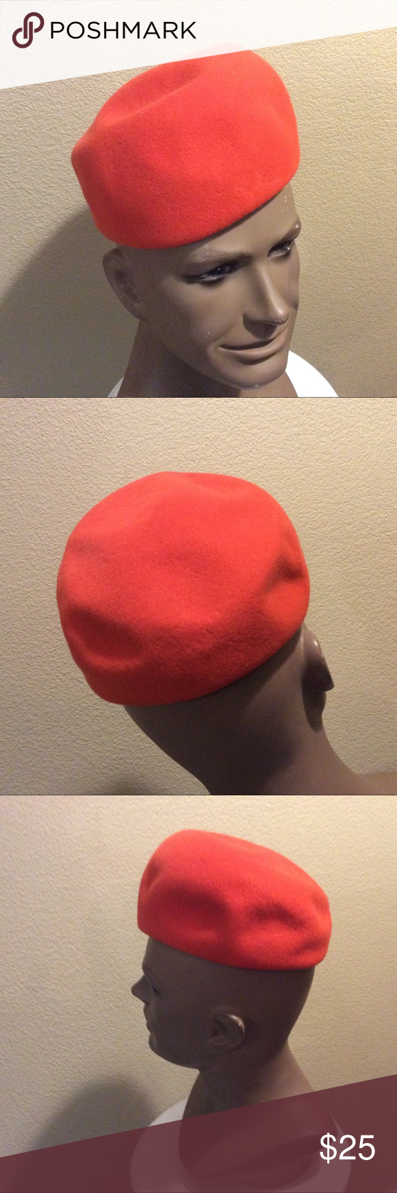 98bf91ba27d Vtg. 1960 s Sears Millinery Beret-ish Hat Cool ladies hat you can pinch