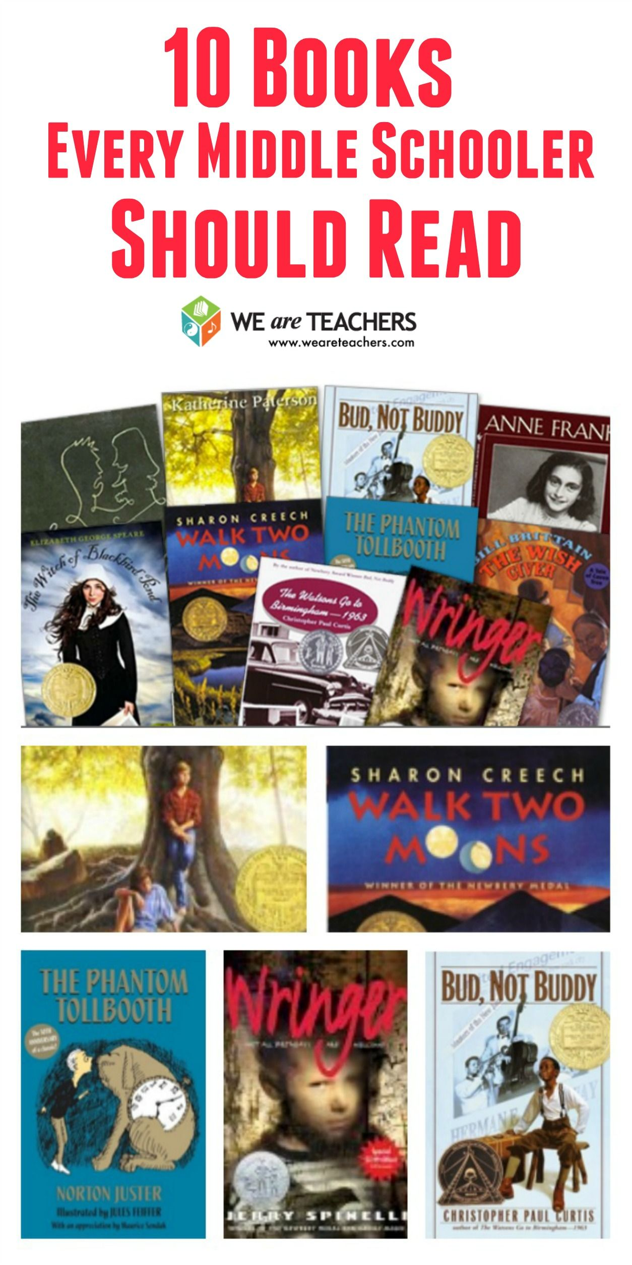 The Best Books To Teach In Middle School