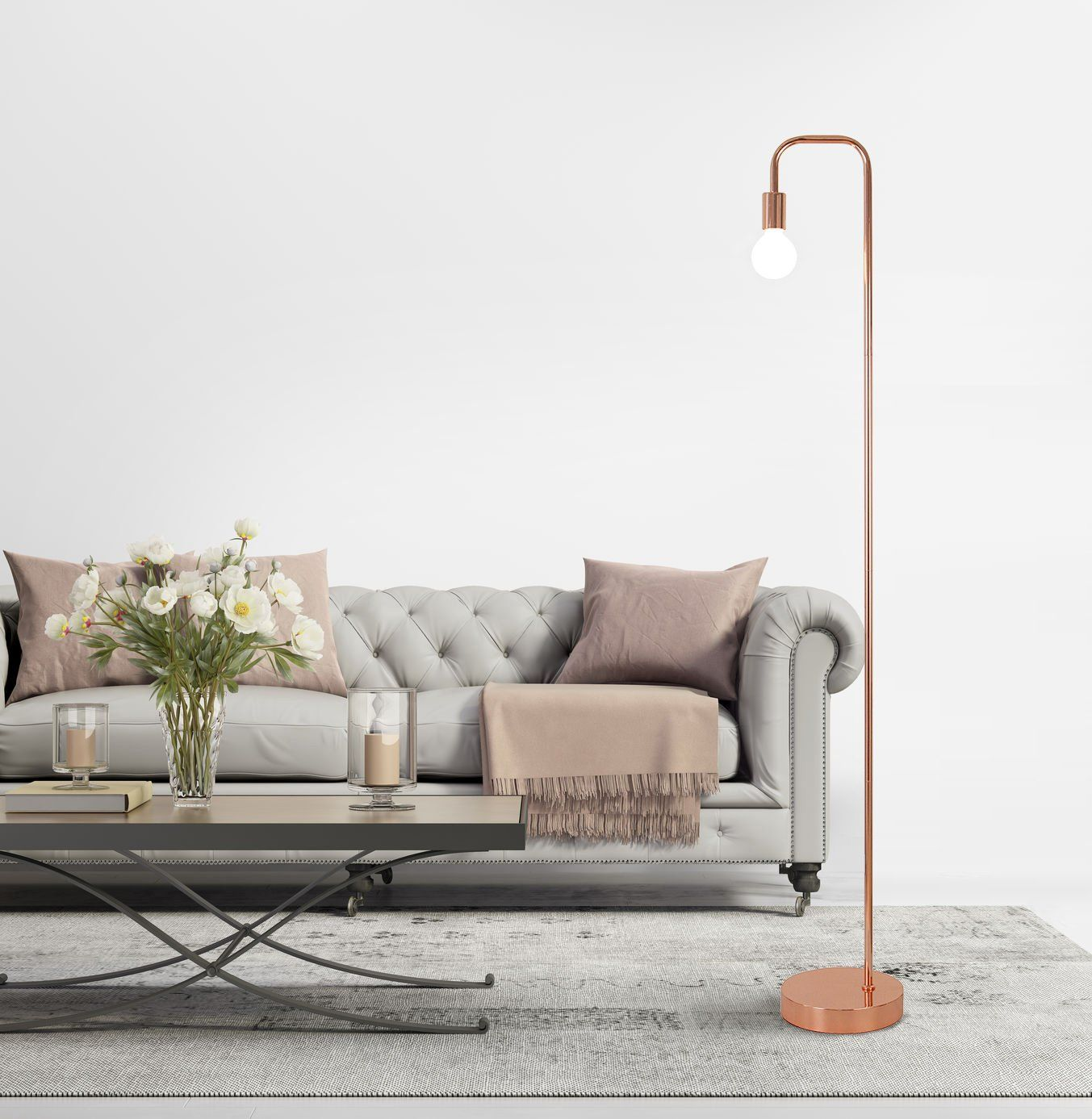 10+ Amazing Tall Living Room Floor Lamps