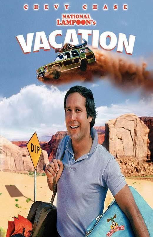National Lampoon's Vacation Movie Poster 11 X 17 Chevy