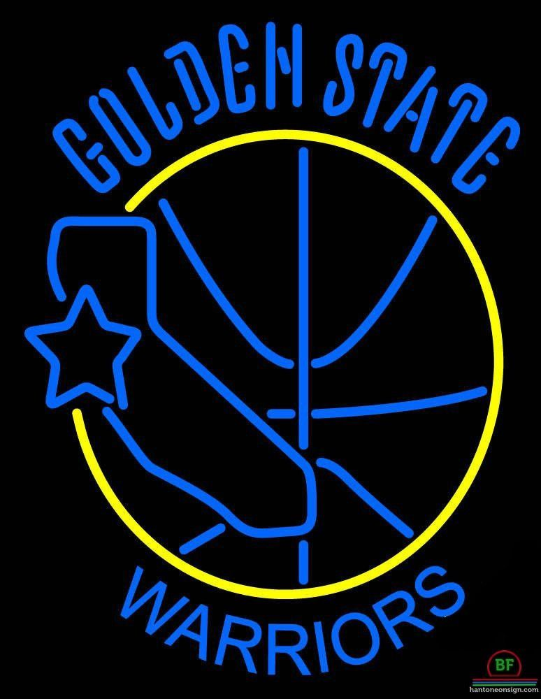 Golden State Warriors Neon Sign Nba Teams Neon Light Golden State Warriors Wallpaper Golden State Warriors Neon Signs