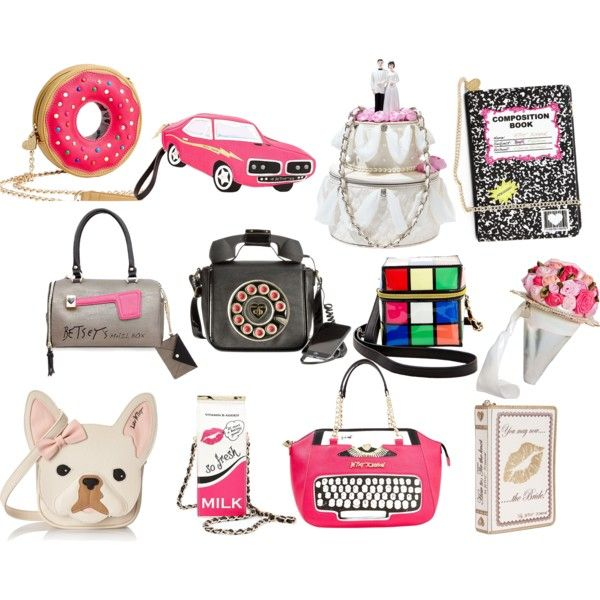 Inspiration Betsey Johnson Bags By Skeletorsmom On Polyvore Featuring