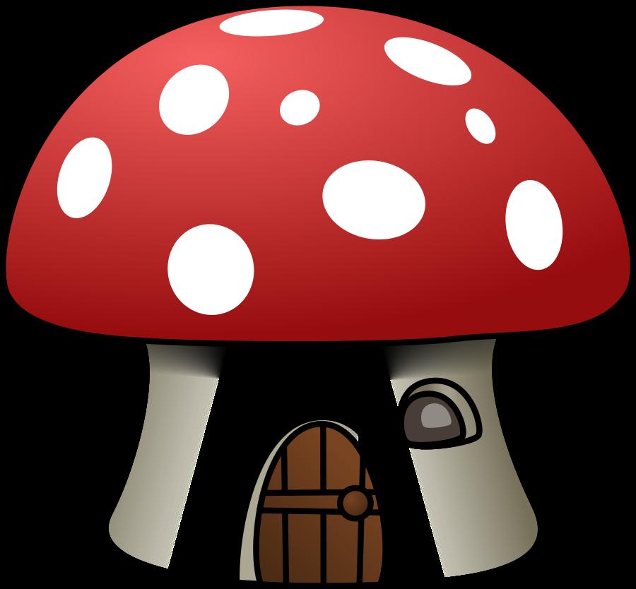 mushroom house clipart vector clip art online royalty free rh pinterest com mushrooms clipart mushroom clip art drawing
