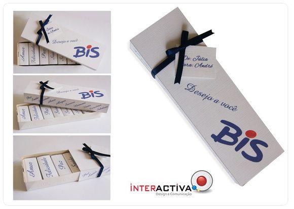 Caixa De Bis Personalizada Desejo A Você Ideal Para Aniversário