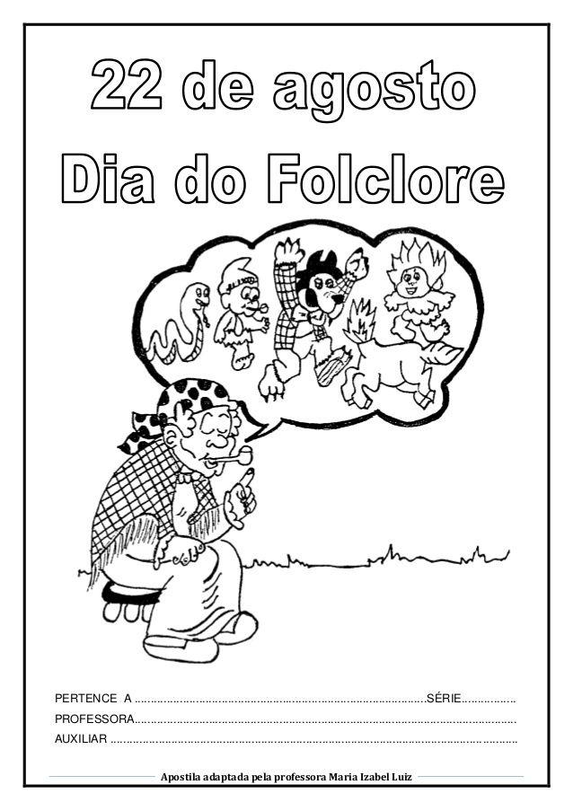 Album Folclore Com Figurinhas Do Album Numerada Atividades