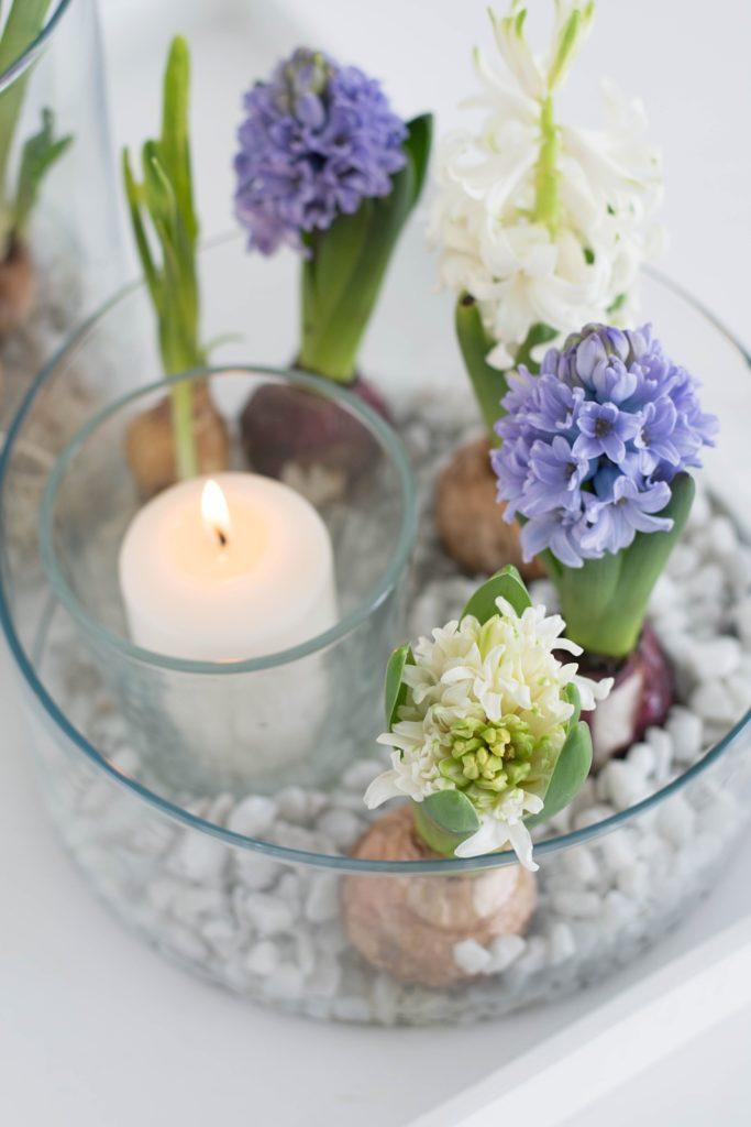 Die schnelle Deko-Idee: Duftendes Frühlings-Arrangement im Glas – Sinnenrausch - Der kreative DIY Blog für Wohnsinnige und Selbermacher