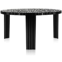 Photo of Kartell T-Table side table H 28cm black KartellKartell
