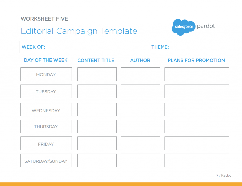 worksheet Promotion Worksheet the editorial campaign template a great worksheet for keeping track of your upcoming marketing content