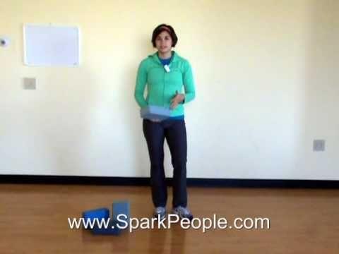 intro to yoga blocks video  sparkpeople  yoga block