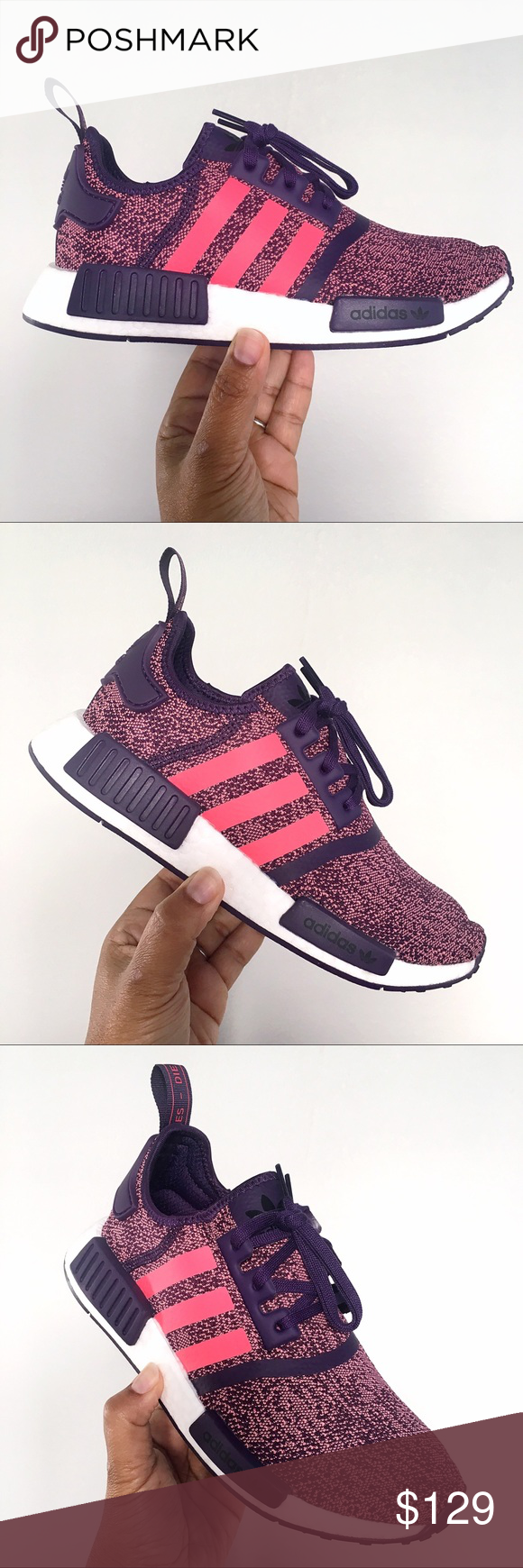 adidas nmd womens black and red