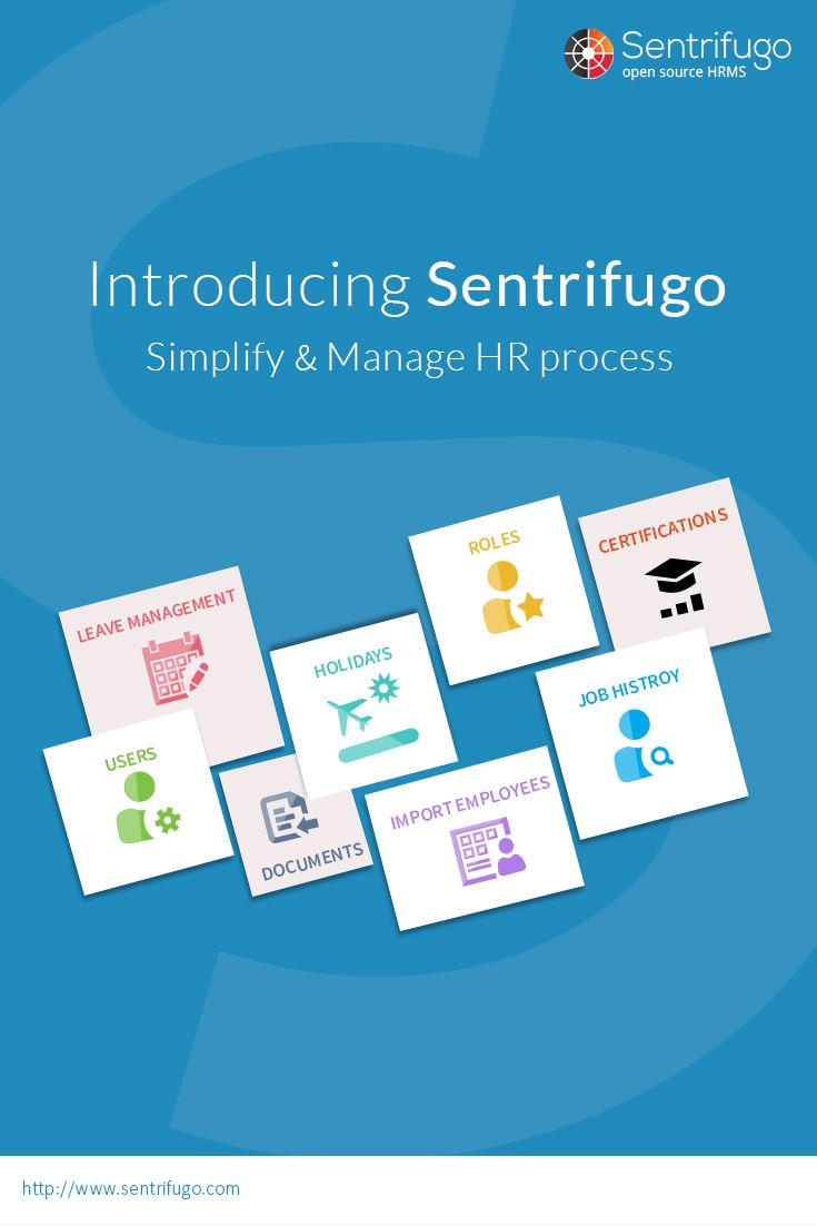 Sentrifugo - Top #FREE #HR #Software with its 1st module