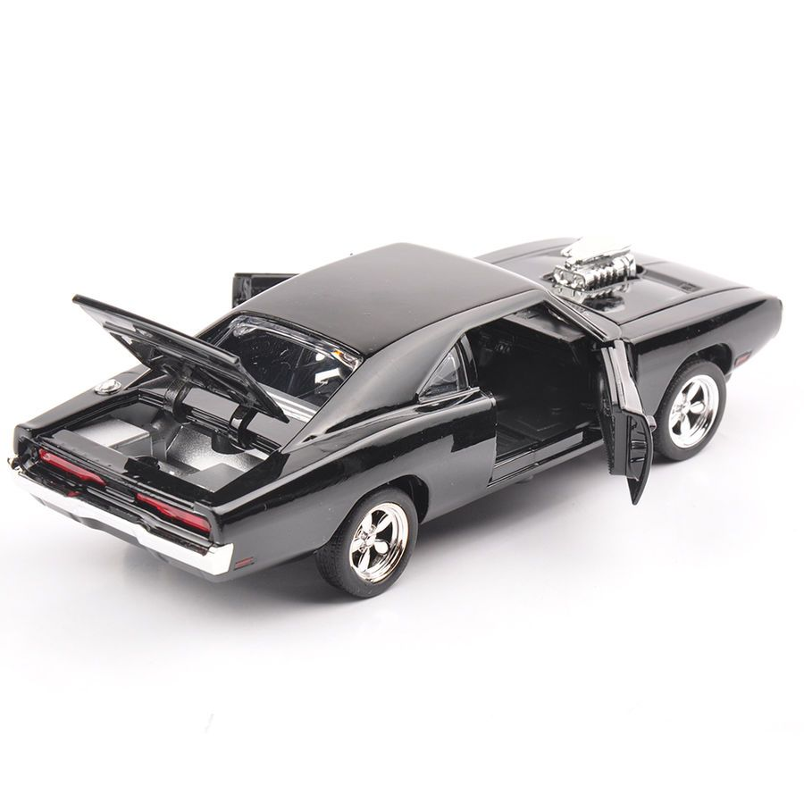 Toys car for child  Fast And Furious  Dodge Charger Alloy Cast Collectible Toy Car