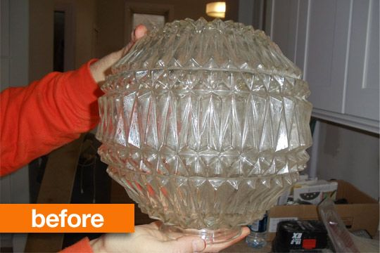 Use Denture tablets to clean glass fixtures and vases